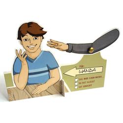 Wichtelgeschenke für Kollegen: Schulterklopfmaschine