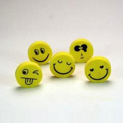 Wichtelgeschenke für Kinder: Lachende Radiergummis