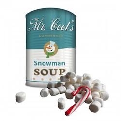 Wichtelgeschenk bis 10 Euro: Schneemann-Suppe