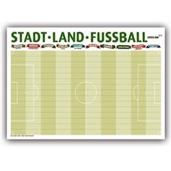 Wichtelgeschenke für Männer: Stadt Land Fussball