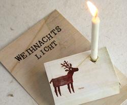 Wichtelgeschenk unter 5 Euro: Weihnachtslicht für die Hosentasche