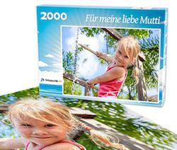 Geschenkidee für Mama: Fotopuzzle