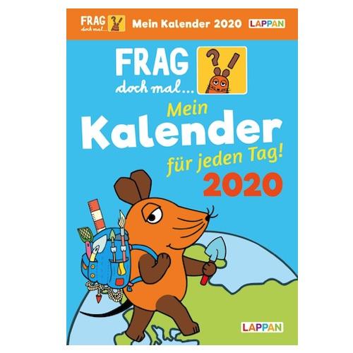 Wichtelgeschenkidee für Kinder: Frag doch mal die Maus Kalender 2020