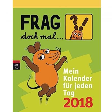 Wichtelgeschenk für Kinder: Maus Kalender 2018