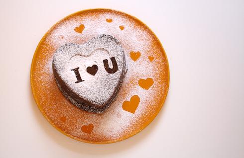 Rezeptidee Zum Valentinstag Schokoladen Herzkuchen