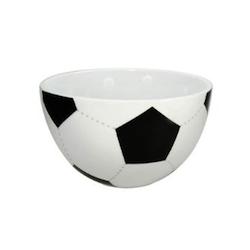 Geschenkidee Fussball WM 2014: Müslischale Fußball
