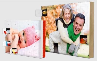 Adventskalender für Frauen: Foto Adventskalender mit individuellen Bildern