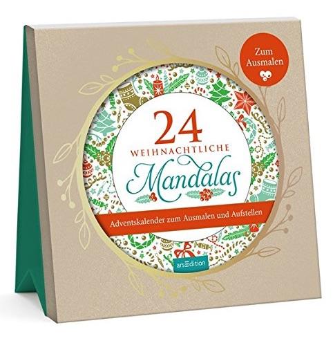 Adventskalender für Frauen: Mandala Adventskalender zum Ausmalen