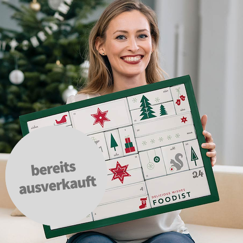 Foodist Gourmet Adventskalender 2018