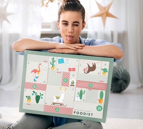 Veganer Adventskalender für Frauen: Foodist Active Adventskalender 2018