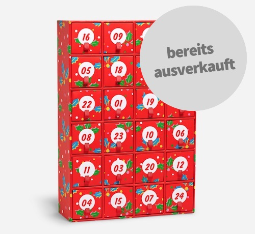 Socken Adventskalender von Happy Socks