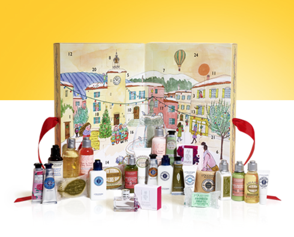 Beauty Adventskalender: L'Occitane Adventskalender 2017