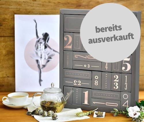 Adventskalender für Frauen: Teeblumen Adventskalender