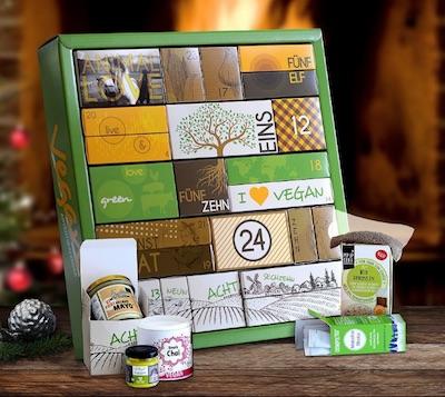 Veganer Adventskalender - vegan & bio
