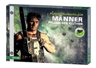 """Adventskalender für Männer """"Helden des Alltags"""""""