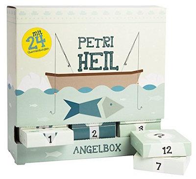 "Angel-Adventskalender ""Petri Heil"" für Angler"