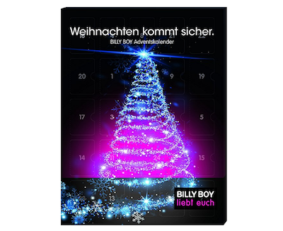 Adventskalender für Männer: Billy Boy Adventskalender