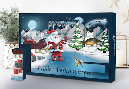 Angel Adventskalender für Angler