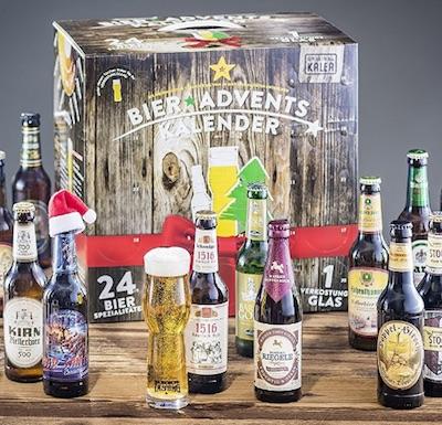 Adventskalender für Männer: Bier Adventskalender