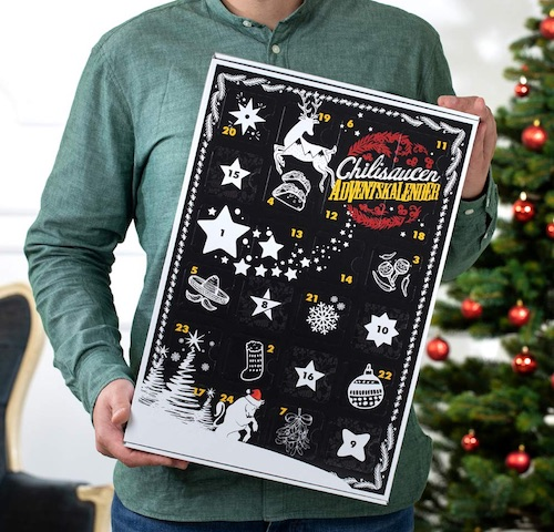 Chilisoßen Adventskalender
