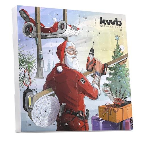 Adventskalender für Männer: Werkzeug-Adventskalender von kwb