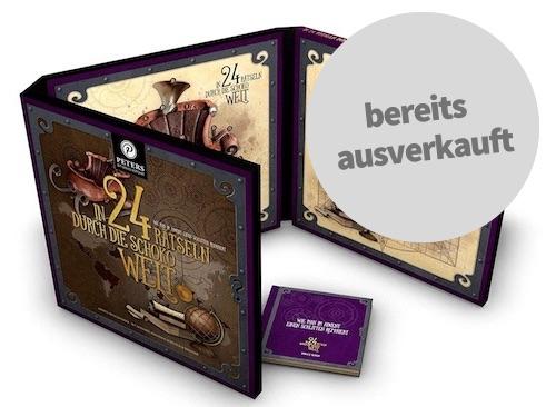 Schokoladen Rästel-Adventskalender