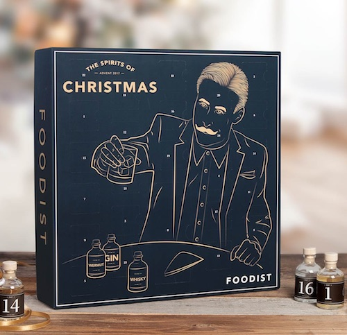Adventskalender für Männer: Foodist Spirits-Adventskalender 2017