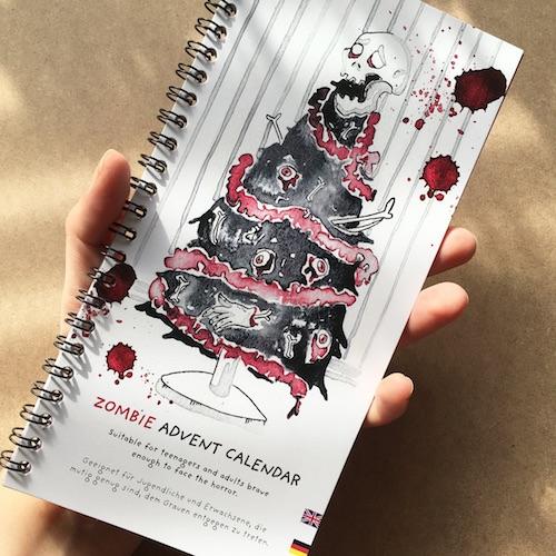 Adventskalender für Männer: Zombie Adventskalender