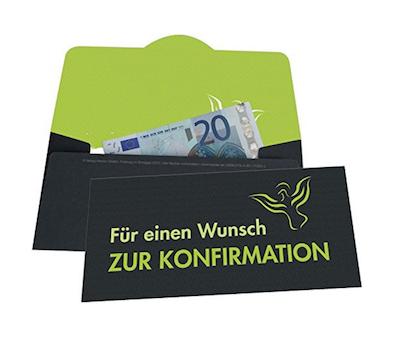 Umschlag-Geldgeschenk-Konfirmation