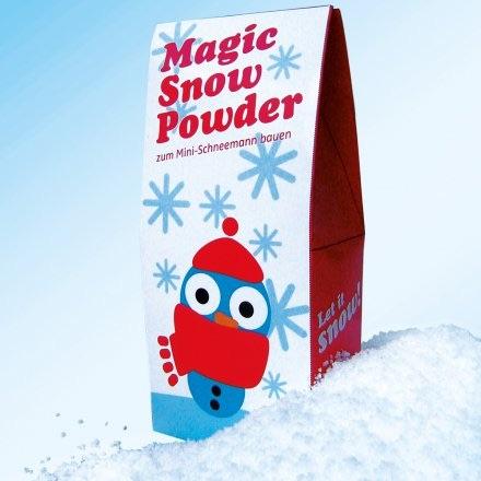 Lustiges Wichtelgeschenk mit S: Magic Snow Powder