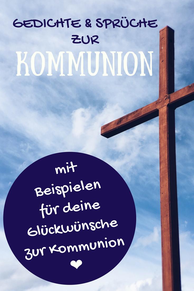Wunsche zur erstkommunion kurz