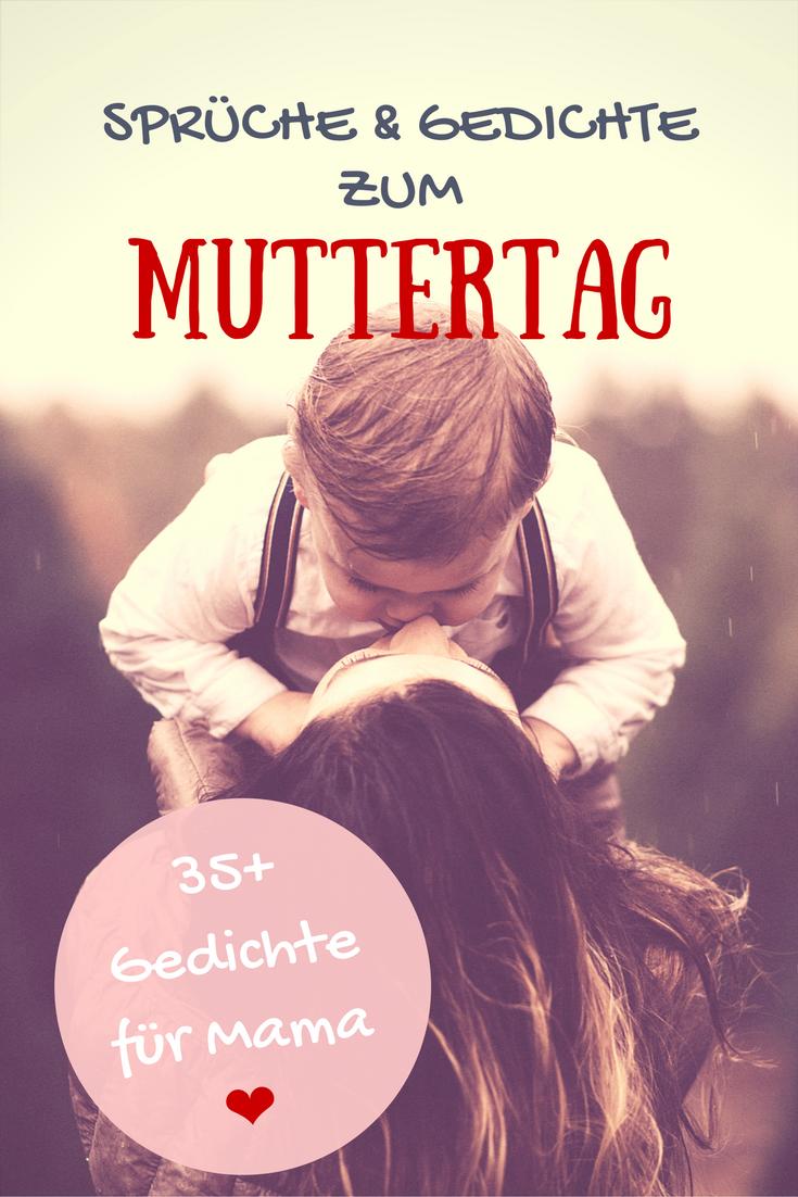 Gedichte für Mama: über 35 liebevolle Muttertagsgedichte & Sprüche für Mama zum Muttertag