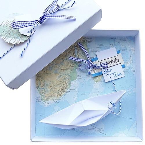 Maritimes Geldgeschenk
