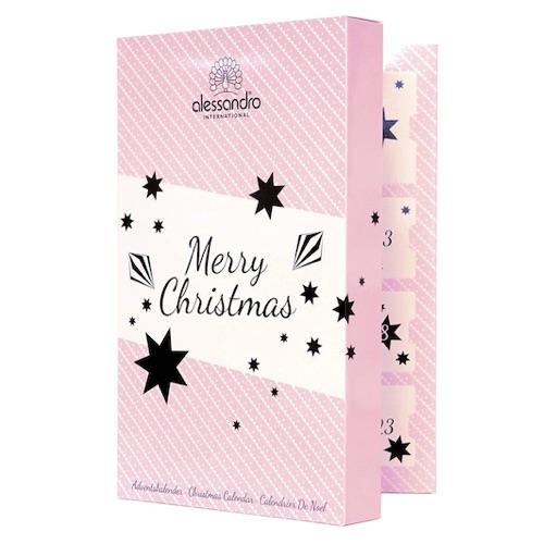 Beauty-Adventkalender 2018: alessandro Adventskalender gefüllt mit Nagellack & Nagelpflegeprodukten