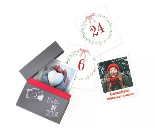 Adventskalender für Verliebte: Foto Adventskalender mit persönlichen Erinnerungen