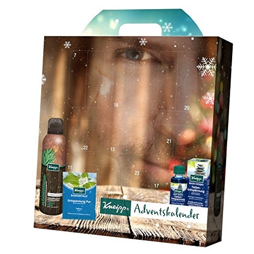 Beauty Adventskalender für Männer: Kneipp Adventskalender for Men