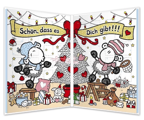 Adventskalender Für Paare: Sheepworld Adventskalender Für Liebespaare