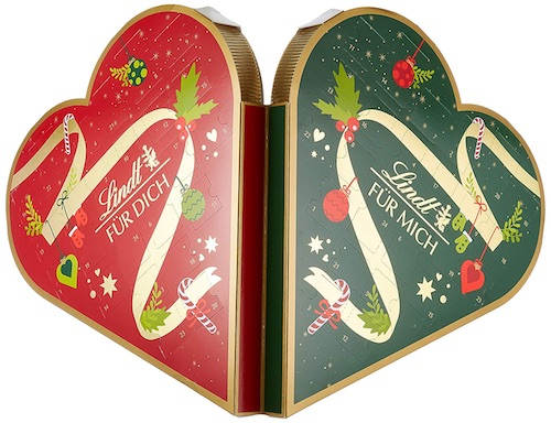 Adventskalender für Paare: Pärchen Adventskalender von Lindt