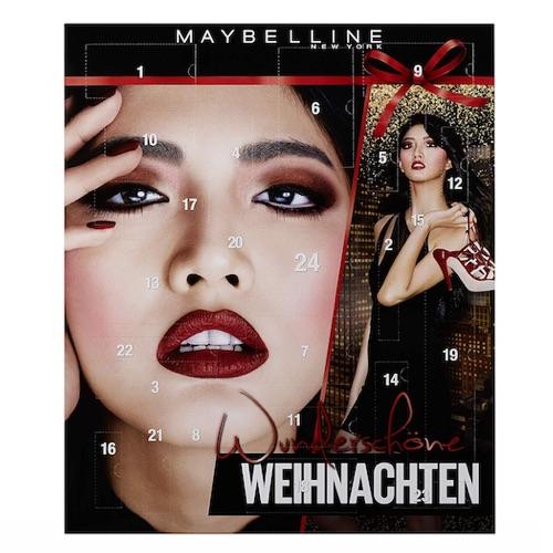 Maybelline Kosmetik Adventskalender 2018