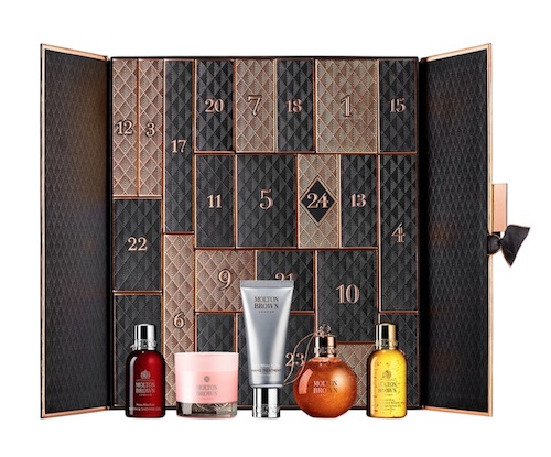 Kosmetik Adventskalender von Molton Brown aus London