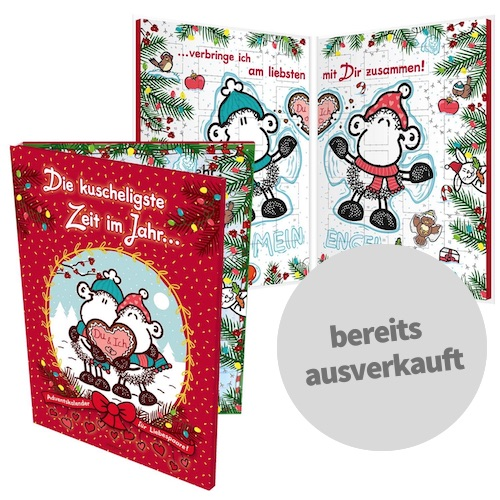 Paar Adventskalender von Sheepworld