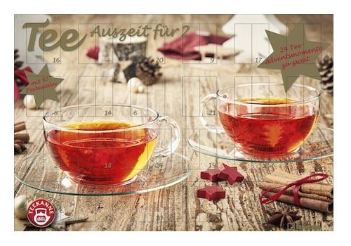 Tee Adventskalender für Zwei (48 Teebeutel)