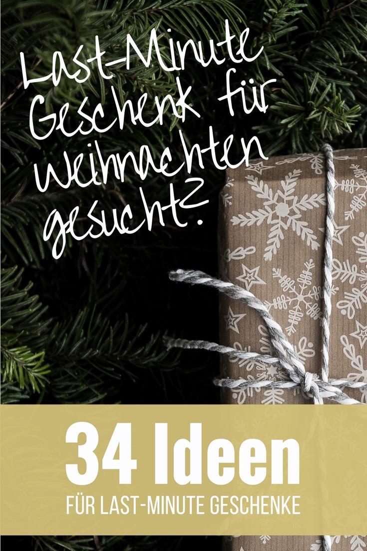 34 Last-Minute Weihnachtsgeschenke zum Ausdrucken & Selbermachen