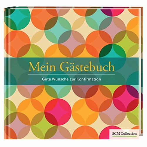 Geschenkidee zur Konfirmation: Gästebuch