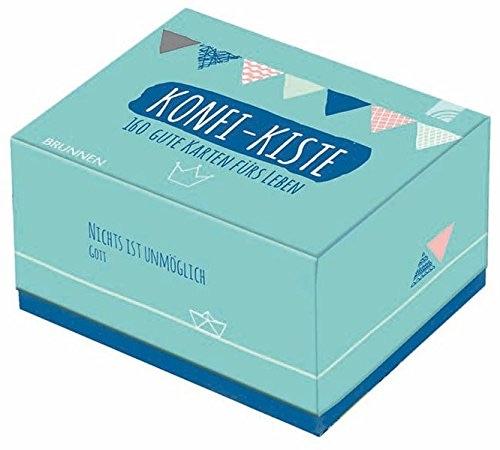 Kleines Geschenk zur Konfirmation: Konfi-Kiste mit Weisheiten fürs Leben