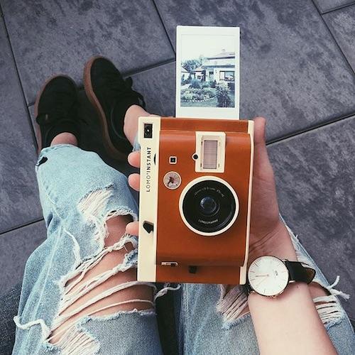 Geschenkidee zur Konfirmation: Sofortbildkamera