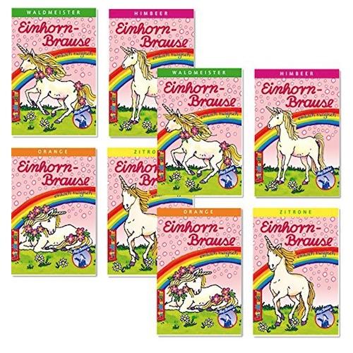 Süßigkeiten für die Einhorn-Schultüte: Einhorn-Brause