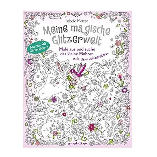 Einhorn-Malbuch