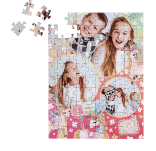 Geschenke zur Einschulung in die 5. Klasse: Kinderpuzzle mit eigenen Fotos