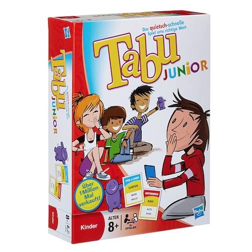 Beispiel für eine Geschenkidee zum Start in der 5. Klasse: TABU Junior